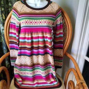 Gap Kids Colorful Sweater Dress  XL 12